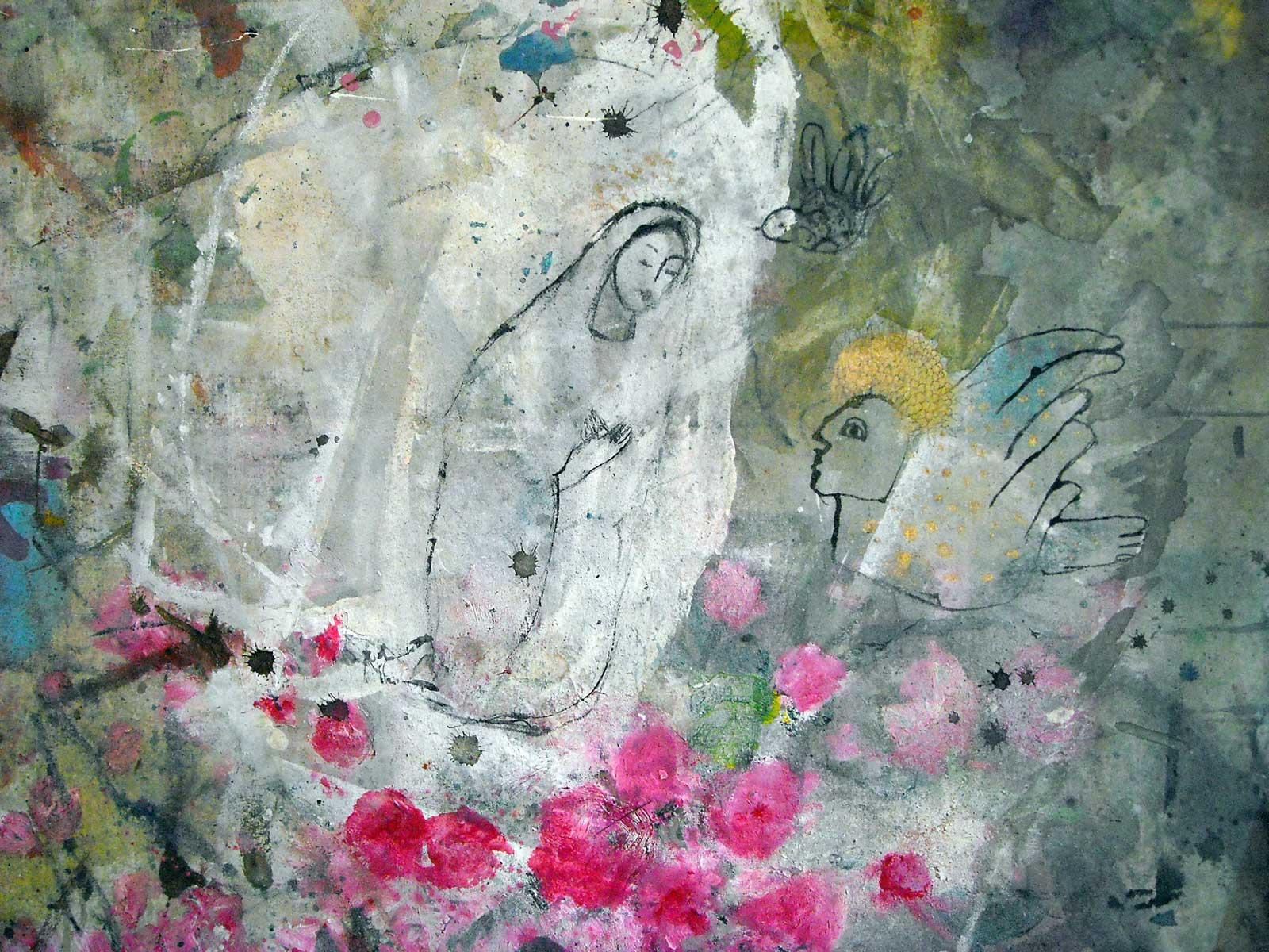 ange Corinne Tichadou artiste peintre Bézier tableaux peinture art contemporain