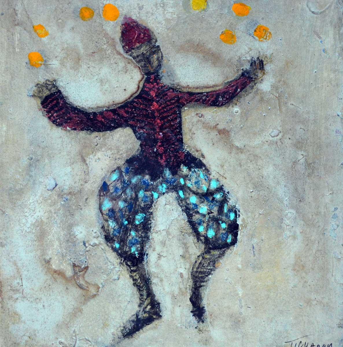 figures Corinne Tichadou artiste peintre Bézier tableaux peinture art contemporain