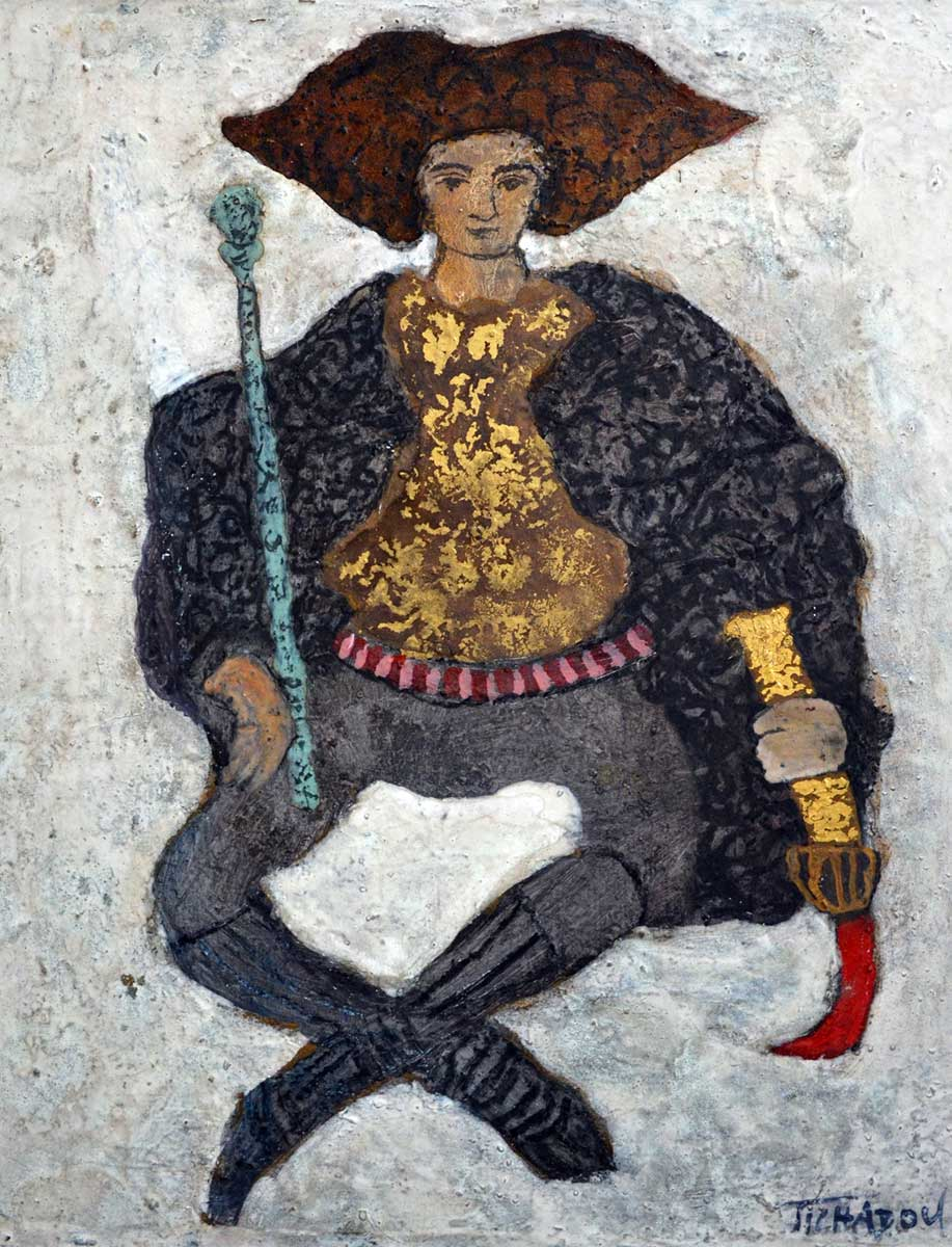 théâtre Corinne Tichadou artiste peintre Bézier tableaux peinture art contemporain
