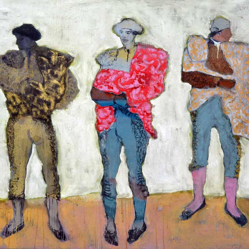 corinne-tichadou-peinture-tauromachie_01 artiste peintre Bézier tableaux peinture art contemporain