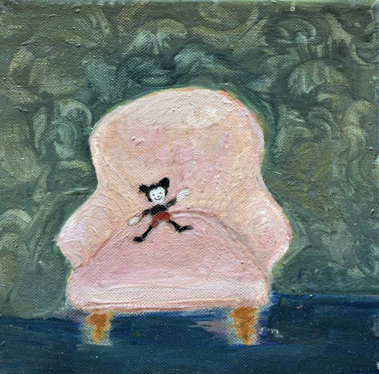 fauteuil Corinne Tichadou artiste peintre Bézier tableaux peinture art contemporain