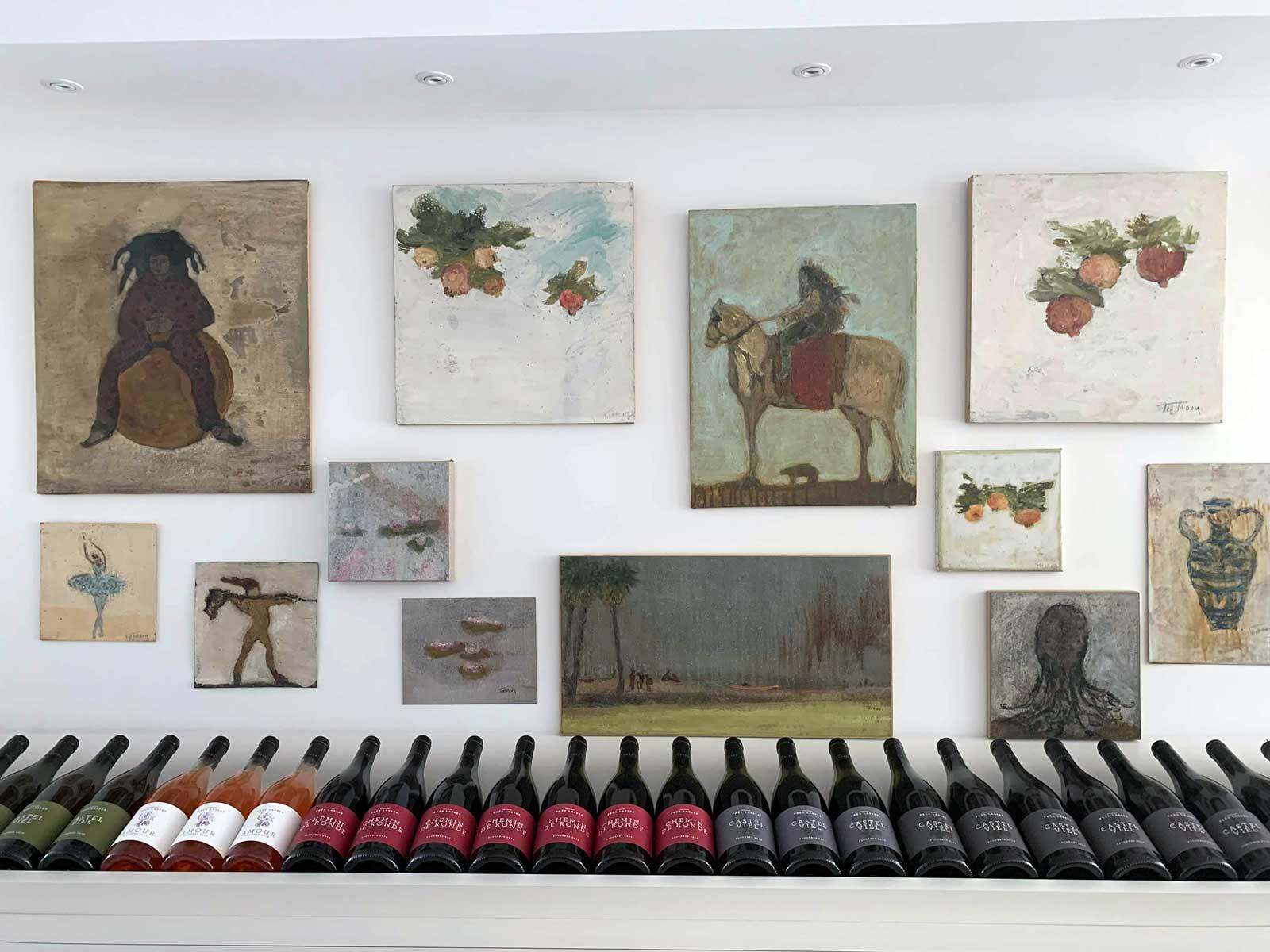 Corinne Tichadou artiste peintre galerie artiste peintre Bézier tableaux peinture art contemporain
