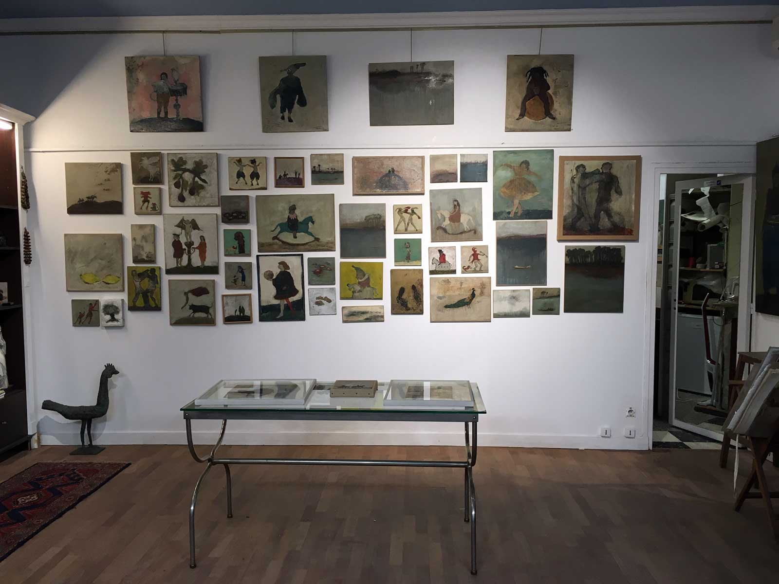 Corinne Tichadou artiste peintre galerie Elyette Peyre artiste peintre Bézier tableaux peinture art contemporain
